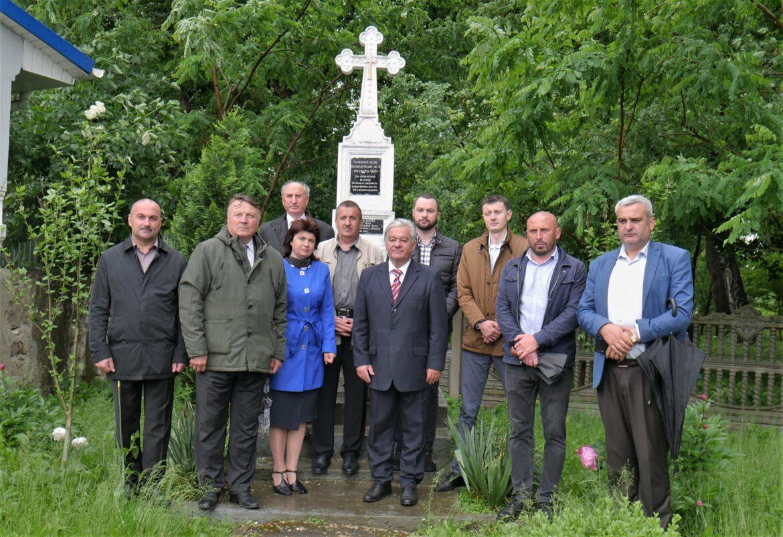 Victimele deportărilor staliniste, comemorare la Herța, regiunea Cernăuți Foto&video